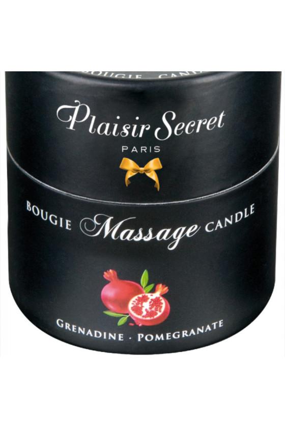 Bougie de massage Plaisir Secret Grenadine