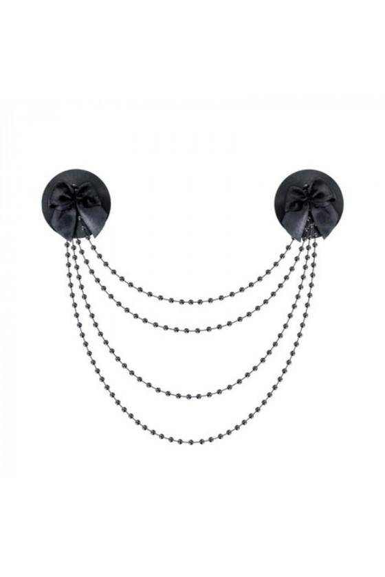 Cache tétons avec collier...